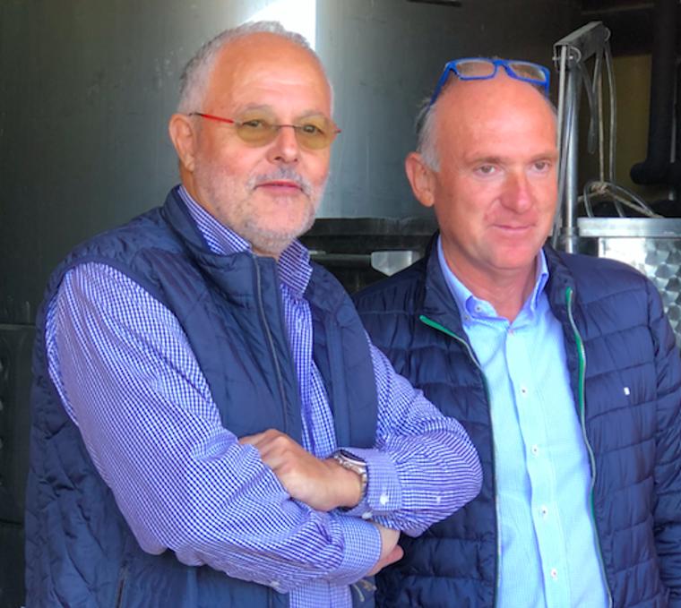 Els responsables del celler Sanui a la DO Costers del Segre