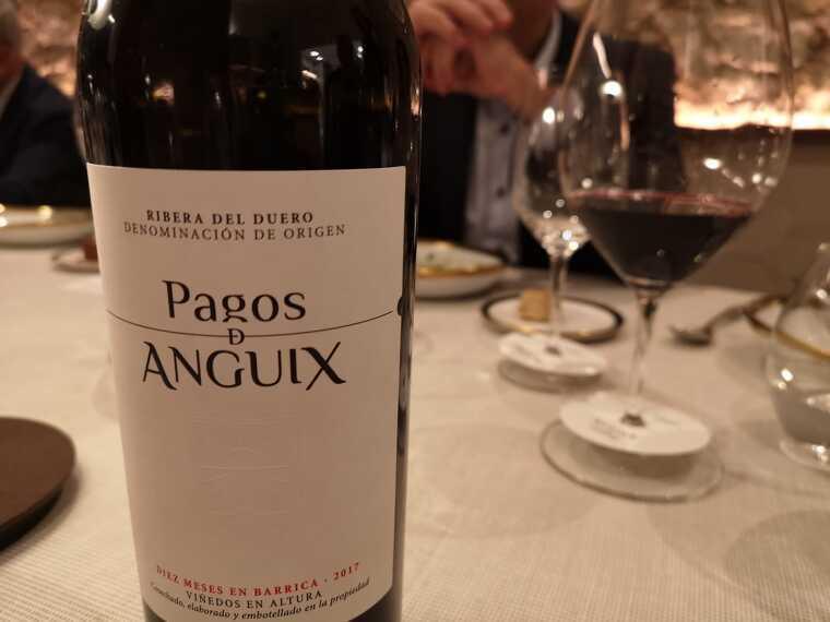 Pagos de Anguix, el primer vi de la DO Ribera del Duero de Juvé i Camps