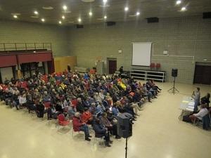 Reunió a Les Cabanyes amb més de 170 persones per explicar la plataforma contra la planta asfàltica del Penedès