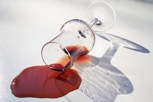 Taca de vi negre