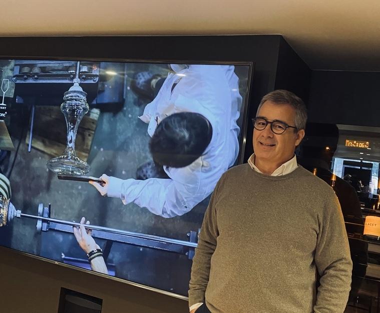 Jordi Segura al nou espai Wita Barcelona d'Euroselección
