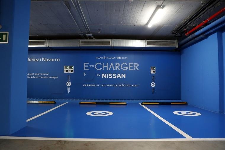Punts de recàrrega Nissan a Núñez i Navarro