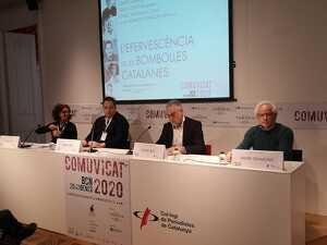 Isabel Vidal de les JARC, Sergi Colet de Clàssic Penedès, Damià Deàs de l'Institut del Cava i Xavier Gramona de Corpinnat