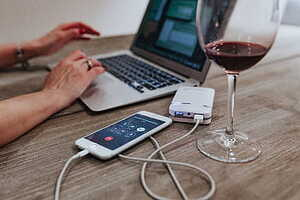 La nostra vida està als dipositius electrònics i els nostres gustos sobre vi també