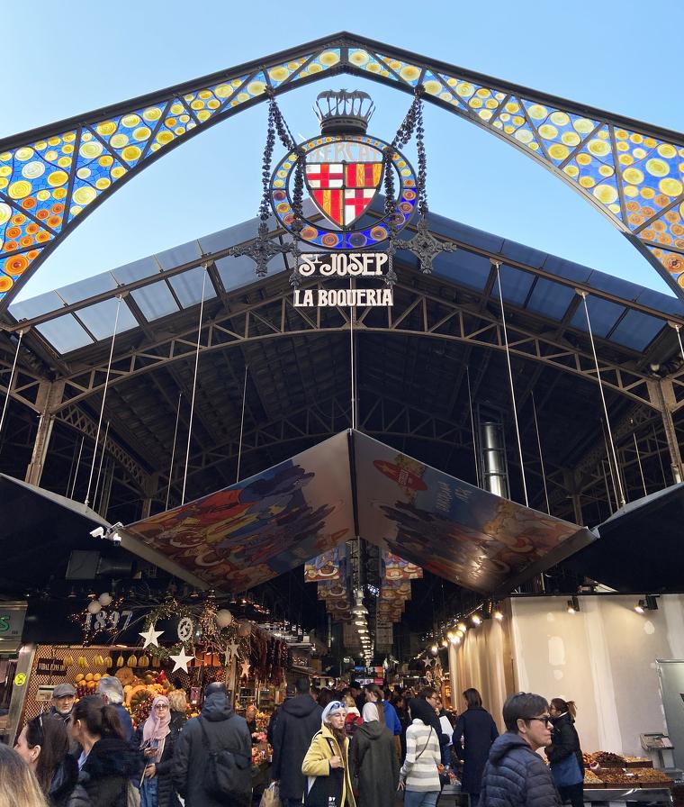 El mercat de la Boqueria fa 180 anys i ho celebra amb la DO Penedès