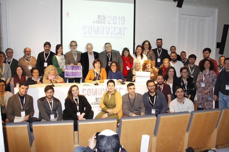 Els participants de la primers edició del Comuvicat