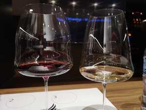 Algunes de les copes tenen capacitat per a un litre de vi