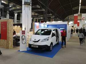 L'e-NV200 de Nissan ha estat present a la Barcelona Wine Week