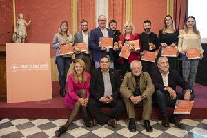 Les millors imatges del lliurament dels Barcelona Rosé