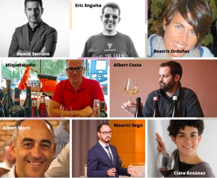 Els professors d'enoturisme en anglès i francès de l'Escola d'Enoturisme de Catalunya