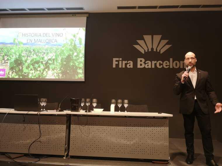 Joan Arboix ha presentat els vins de Mallorca a la Barcelona Wine Week 2020