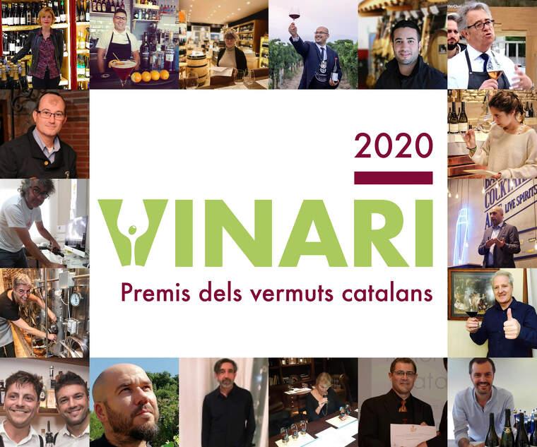 El jurat dels Premis Vinari dels Vermuts 2020