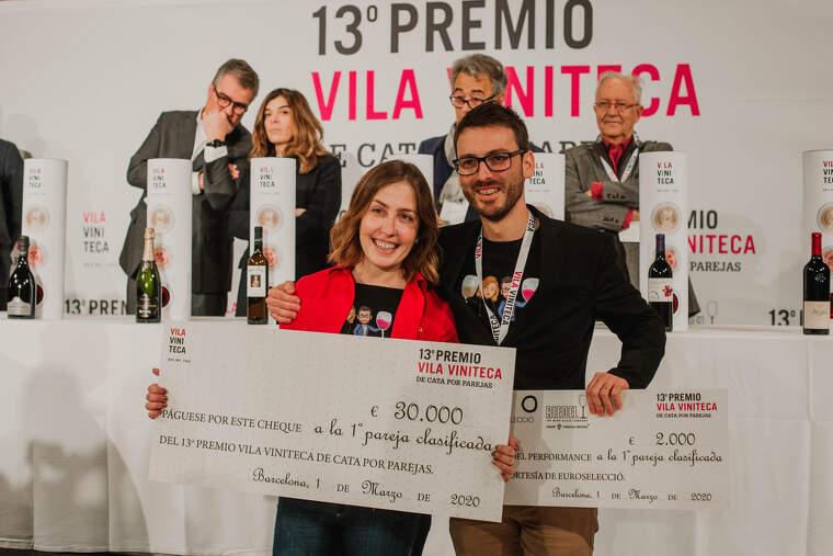 Rubén Pol i Lucía Viz, la parella guanyadora, s'emporta 30.000 euros