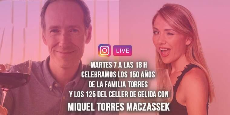 Família Torres i el Celler de Gelida brinden pels seus aniversaris a través d'Instagram