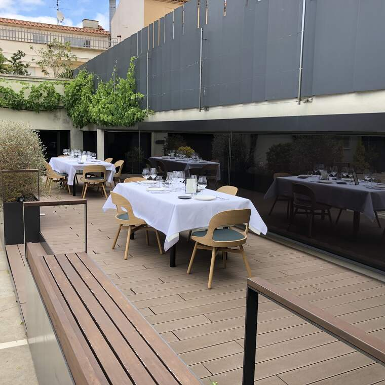El pati de Recaredo serà la seu de fins a 40 restaurants top. Una nit per cadascun.