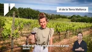 Imatge del vídeo d'agraïment dels productors locals