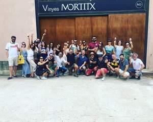La visita a Vinyes Mortitx ha estat la primera d'un cicle que es farà tot l'estiu