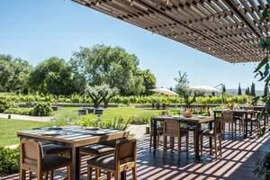 El restaurant de Família Torres al celler de Pacs de Penedès