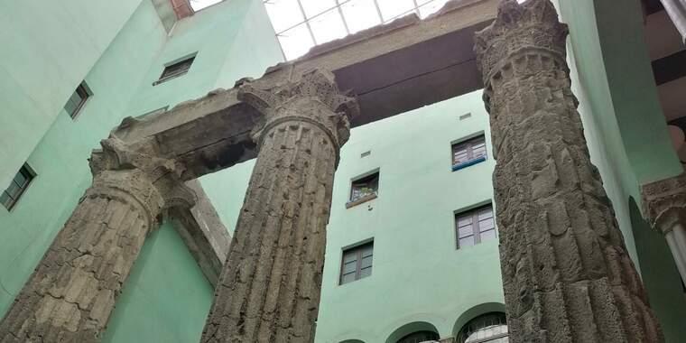 Les columnes del Temple d'August