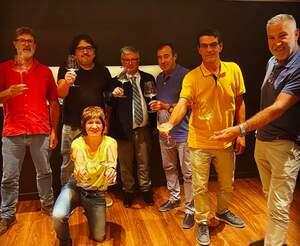 Representants de la DO Cava, Corpinnat i Clàssic Penedès al programa Tast Vertical de Catalunya Ràdio