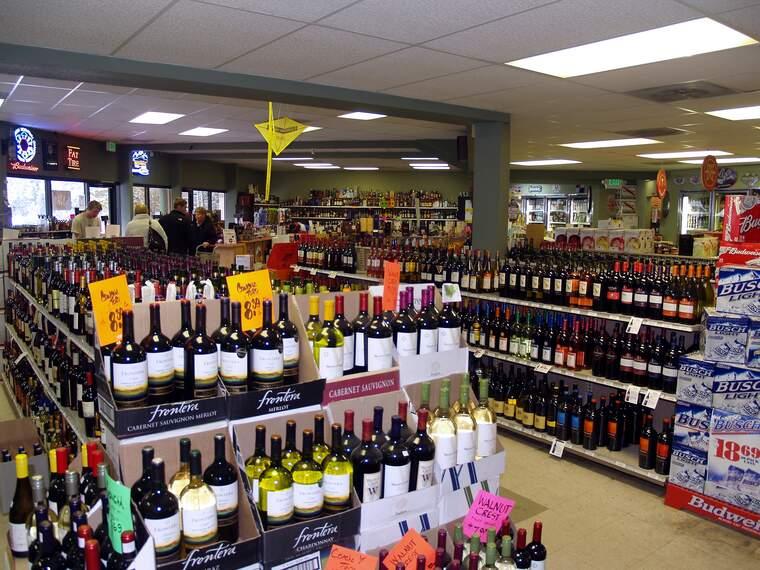 Botiga de vins als EE.UU.