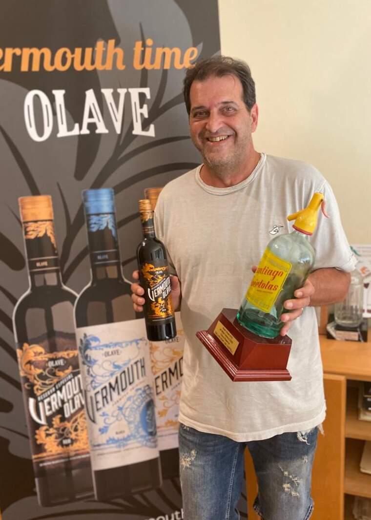 Oriol Abella és el responsable del Vermut Olave Reserva el Gran Vinari d'Or dels Vermuts 2020