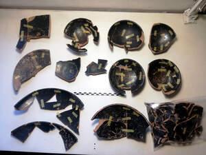Al jaciment s'hi han trobat restes d'un banquet festiu