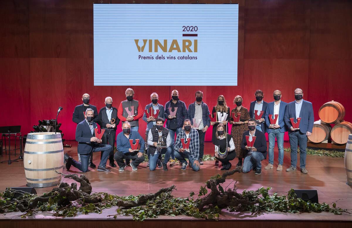 Les millors imatges dels Premis Vinari 2020