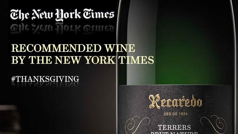 El New York Times recomana un escumós de Recaredo