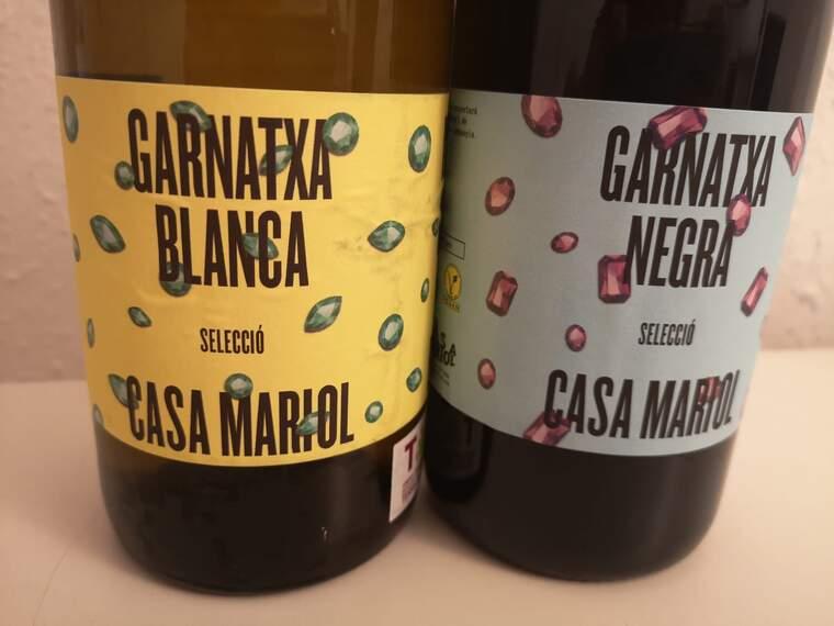 Garnatxa Blanca Selecció i Garnatxa Negra Selecció són els nous vins de Casa Mariol