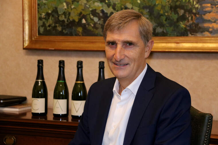 Javier Pagès, president de la DO Cava preveu un Nadal difícil pel sector