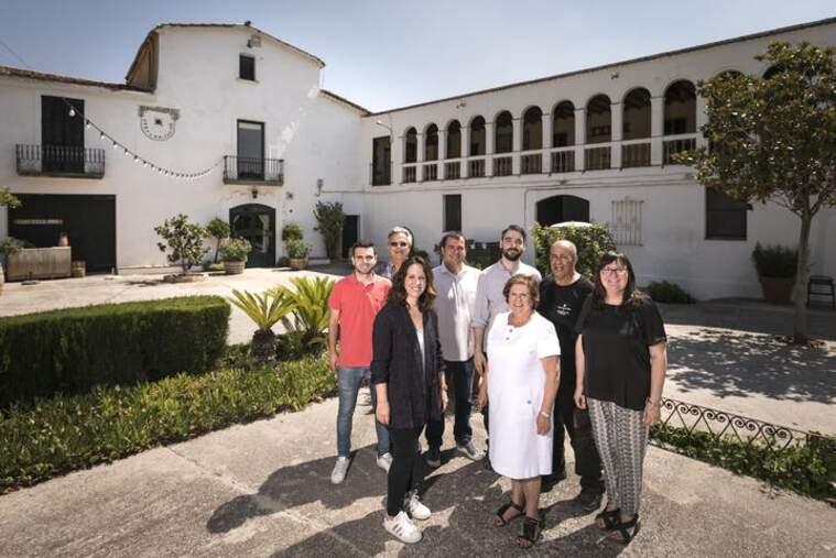La família Rabetllat Vidal està al capdavant de Finca Ca n'Estella