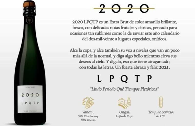 L'escumós argentí 2020 LPQTP