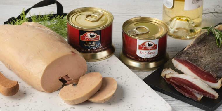 Foie gras sencer d'Ànec de l'Empordà