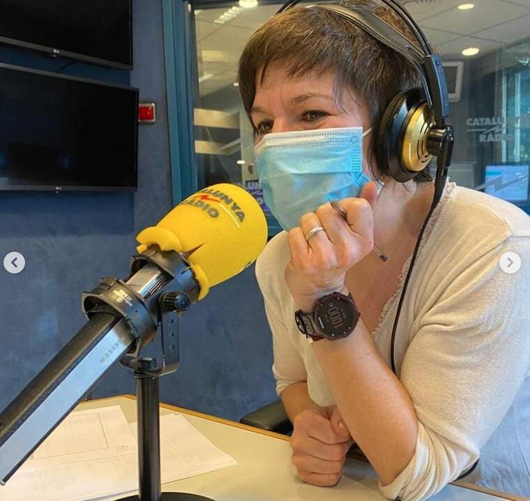 Empar Moliner  presenta el programa Tast Vertical ara en podcast a Catalunya Ràdio