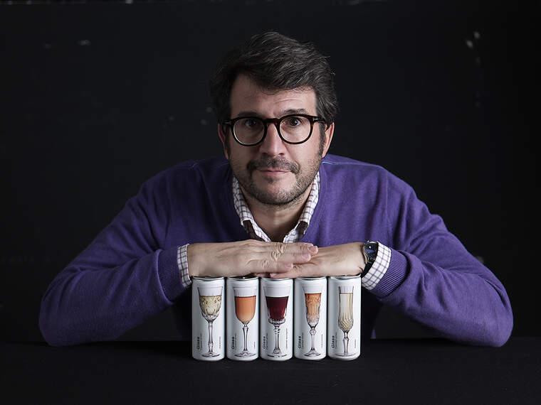 Joan Anton Romero, l'ideòleg de Glass Canned Wines