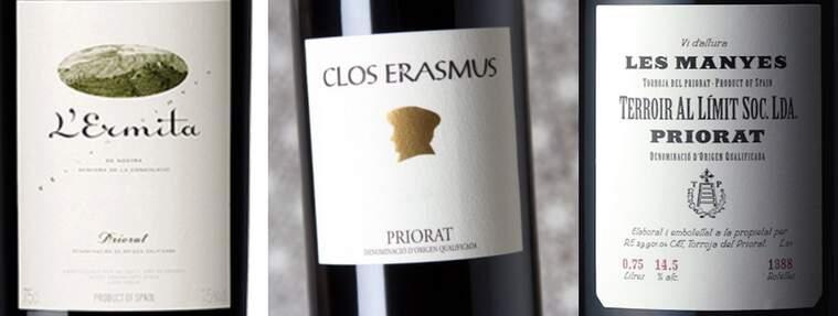L'Ermita, Clos Erasmus i Les Manyes, els top dels punts Parker 2020 dels vins catalans