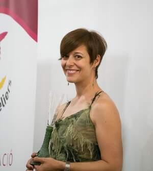 La periodista terraltina Eva Vicens