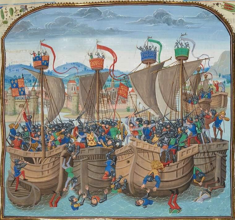 Batalla naval de Sluis