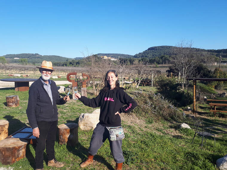 Pere i Marta Guilera guiaran les visites