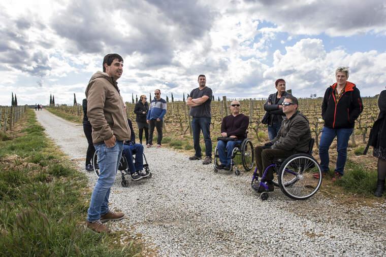 Visita a La Vinyeta per a persones amb mobilitat reduïda