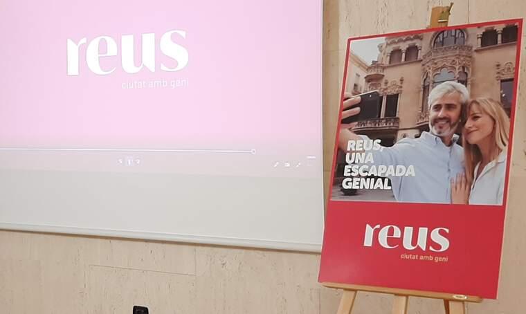Cartell promocional 'Reus, una escapada genial'