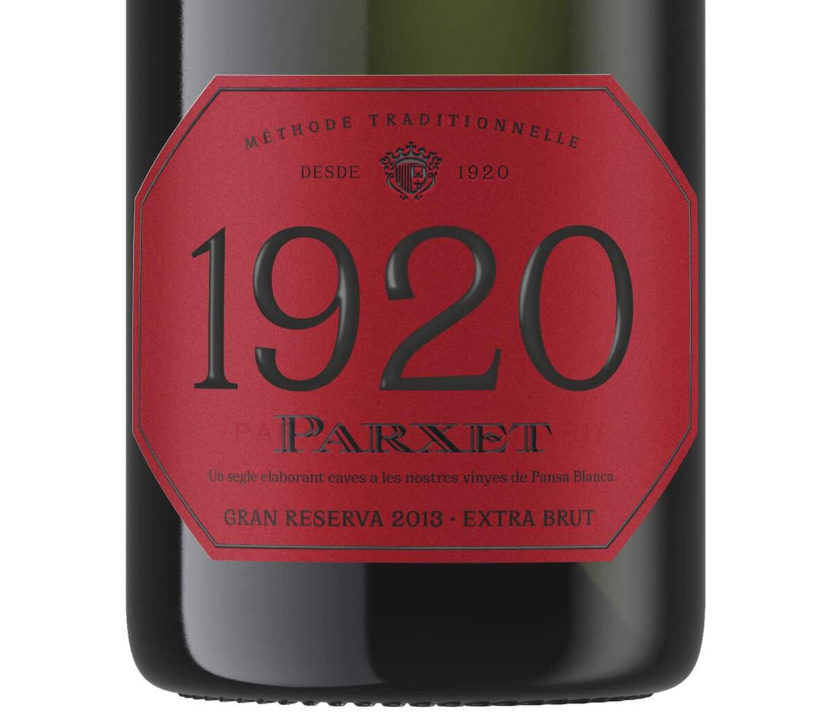1920 és el nou cava de Parxet per celebrar el seu centenari