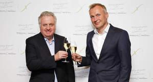 D'esquerra a dreta, Pere Ferrer, co-CEO i vicepresident de Grup Freixenet, i Andreas Brokemper, co-CEO de Grup Freixenet