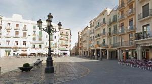 Imatge d'arxiu de la plaça del Mercadal.