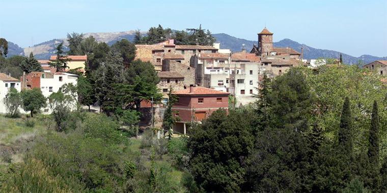 Imatge del poble de l'Argentera.