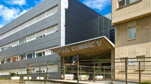 Imatge de l'Hospital Comarcal d'Amposta.