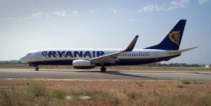 El vol és de la companyia Ryanair.
