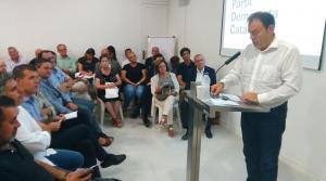 Joaquim Calatayud presenta la seva candidatura
