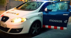 Cotxe patrulla dels Mossos d'Esquadra.